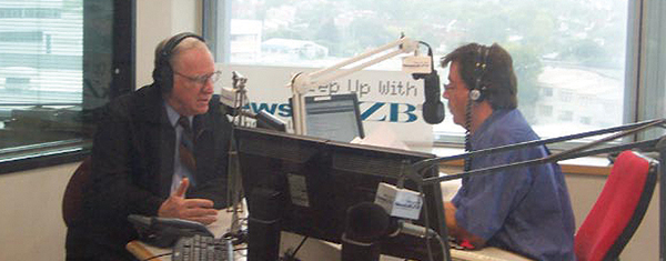 Radio interview with Leighton Smith in New Zealand