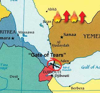 Yemen, Gate of Tears