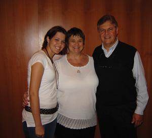 Jackie, Gina, & Michael Utterback